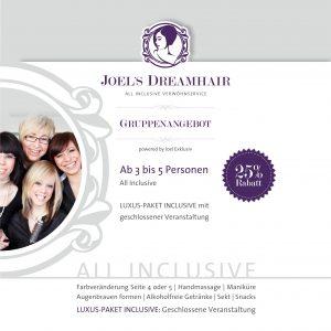 Joels Dreamhair Menü D S6